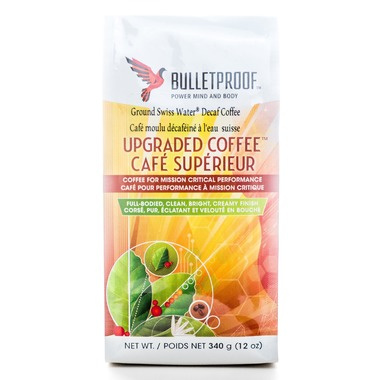 Bulletproof The Original Ground Decaf Coffee, 340g