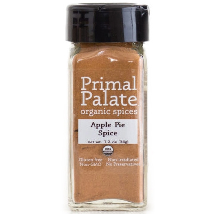 Primal Palate Organic Spices Apple Pie Spice, 34g