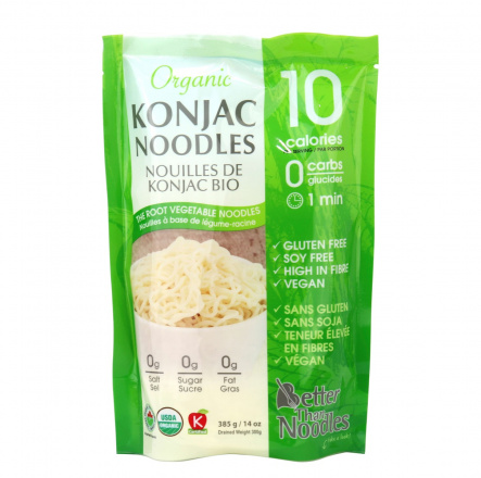 Better Than Foods Organic Konjac Noodles, 385g