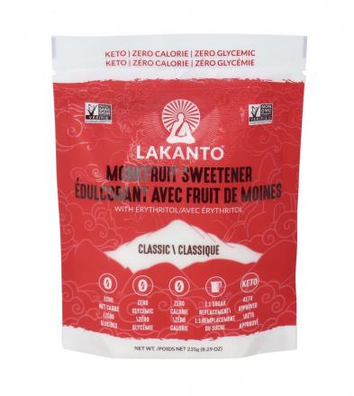 Lakanto Classic Monkfruit Sweetener, 235g